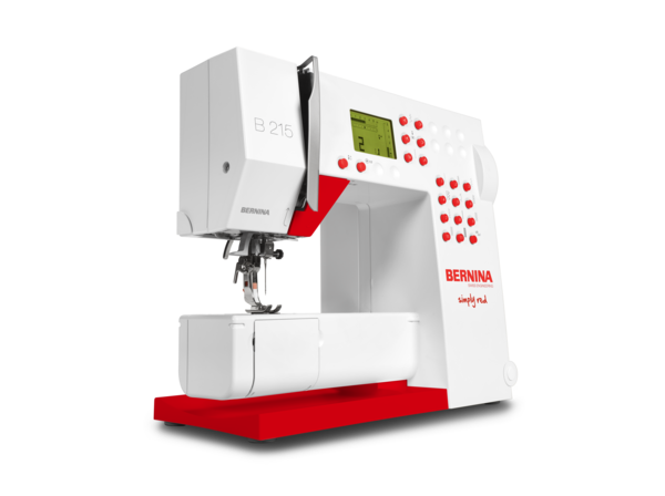 Sew In Style With The BERNINA 40 Simply Red Sewing Machine The Amazing Bernina 215 Sewing Machine Reviews