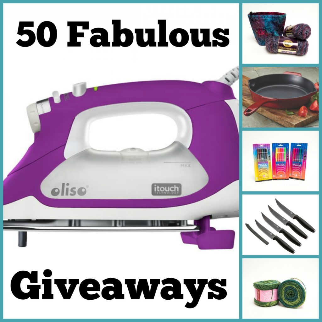 Enter to win 50 Giveaways