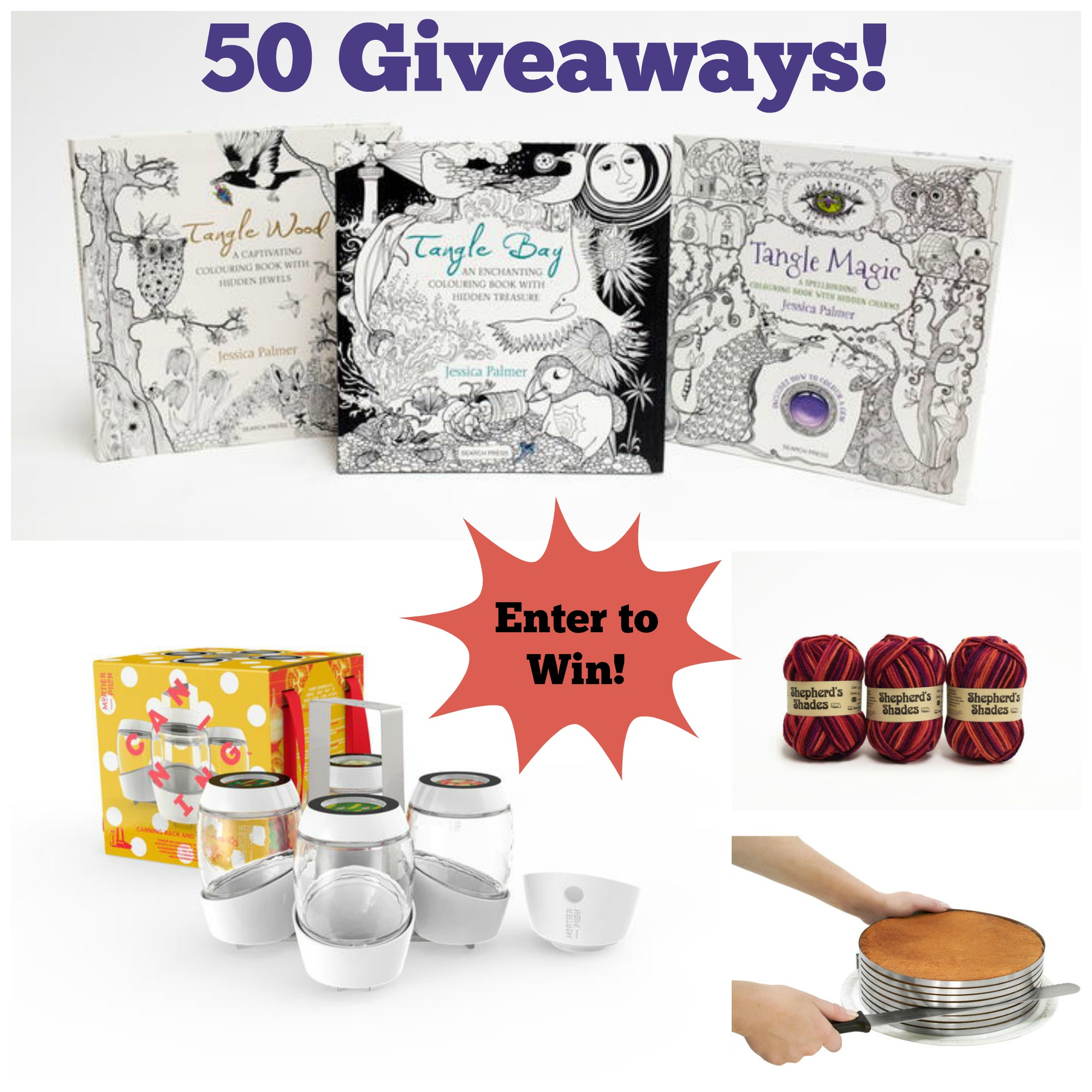 Giveaways! Giveaways! Giveaways! - The Giveaway Gazette