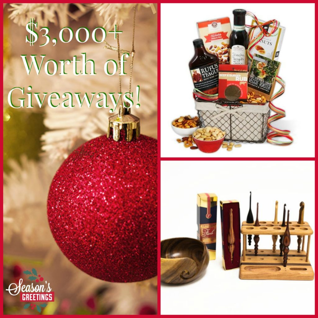 $3,000 Worth of Giveaways